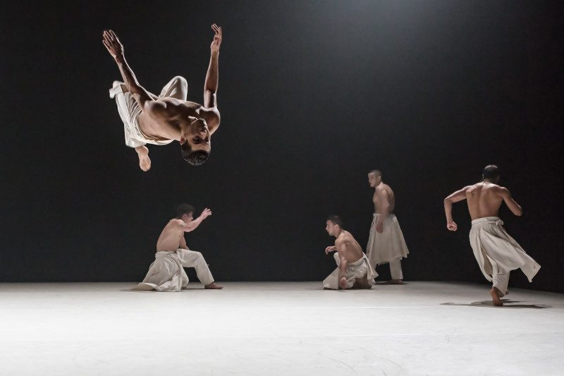 """Compagnie Hervé Koubi appears in the West Coast premiere of """"What the Day Owes to the Night."""" (Courtesy Didier Philispart)"""