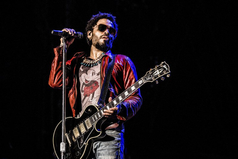 Lenny Kravitz's music and acting career is on the upswing, (Courtesy photo)
