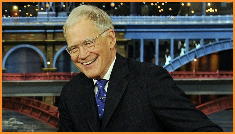 "CBS executive Les Moonves shared his comments about former ""Late Night"" host David Letterman, pictured, in San Francisco. (Courtesy CBS)"