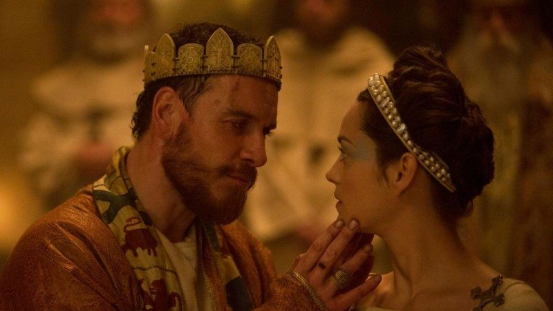 "Michael Fassbender and Marion Cotillard star in ""Macbeth,"" a bleak, atmospheric version directed by Justin Kurzel. (Courtesy Weinstein Co.)"