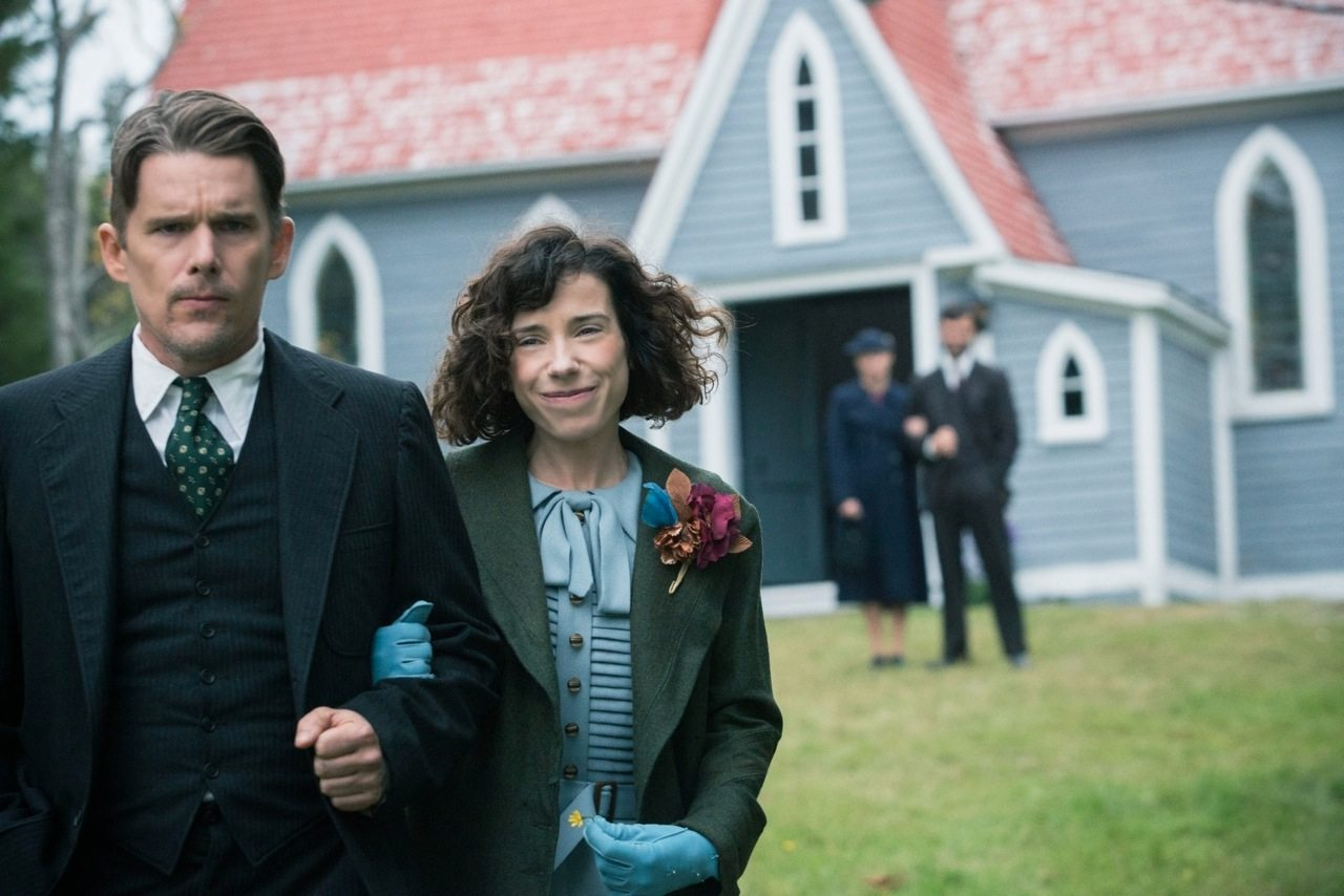 """Ethan Hawke and Sally Hawkins are excellent in in """"Maudie."""" (Courtesy Duncan Deyoung, Sony Pictures Classics)"""