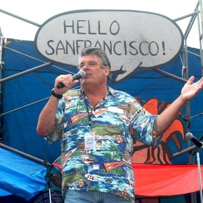 Bob Sarlotte is receiving a comedy legend award at the  35th Comedy Day; the free event is in Golden Gate Park. (Courtesy photo)