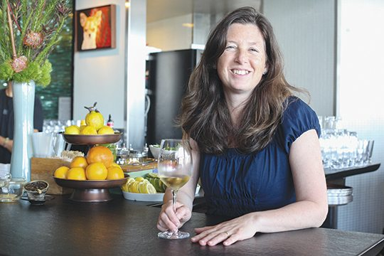 Chaylee Priete, wine director for Slanted Door, advises drinking white wines that are high in acid with Vietnamese food. [GABRIELLE LURIE/SPECIAL TO THE S.F. EXAMINER ]