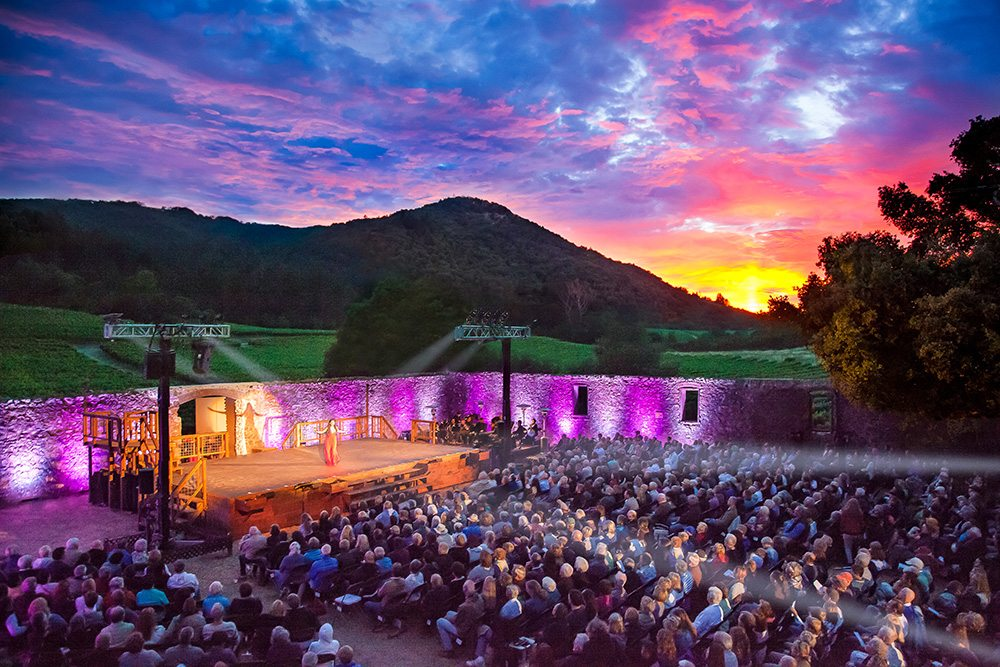 Transcendence Theatre Company has been staging musical revues in the beautiful Jack London State Historic Park in Sonoma County for five years. (Courtesy Rebecca Call)