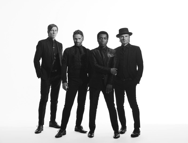 Vintage Trouble, an old-school American soul band, got its start overseas. (Courtesy photo)
