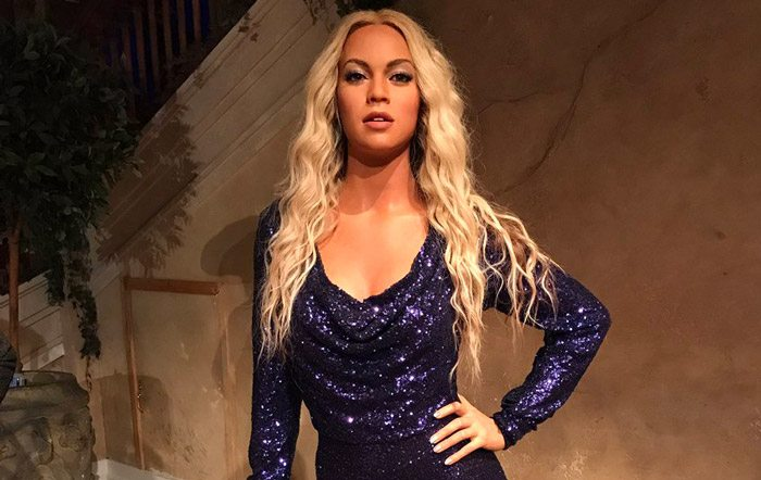 Observers are saying that a wax statute of Beyonce looks nothing like the superstar. (Courtesy Twitter)