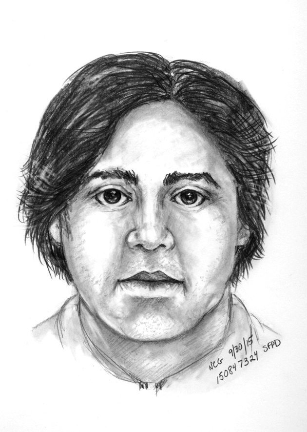 Police released this sketch of a suspect in the sexual assault of a 6-year-old boy at the Western Addition San Francisco Public Library. (Courtesy SFPD)