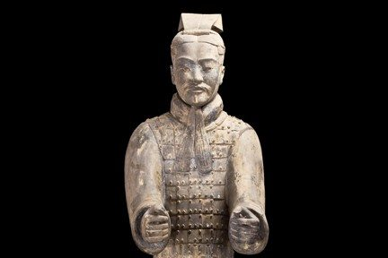 Courtesy PhotoTerra-cotta warriors dating from the transformative reign of China's first emperor are at the Asian Art Museum.