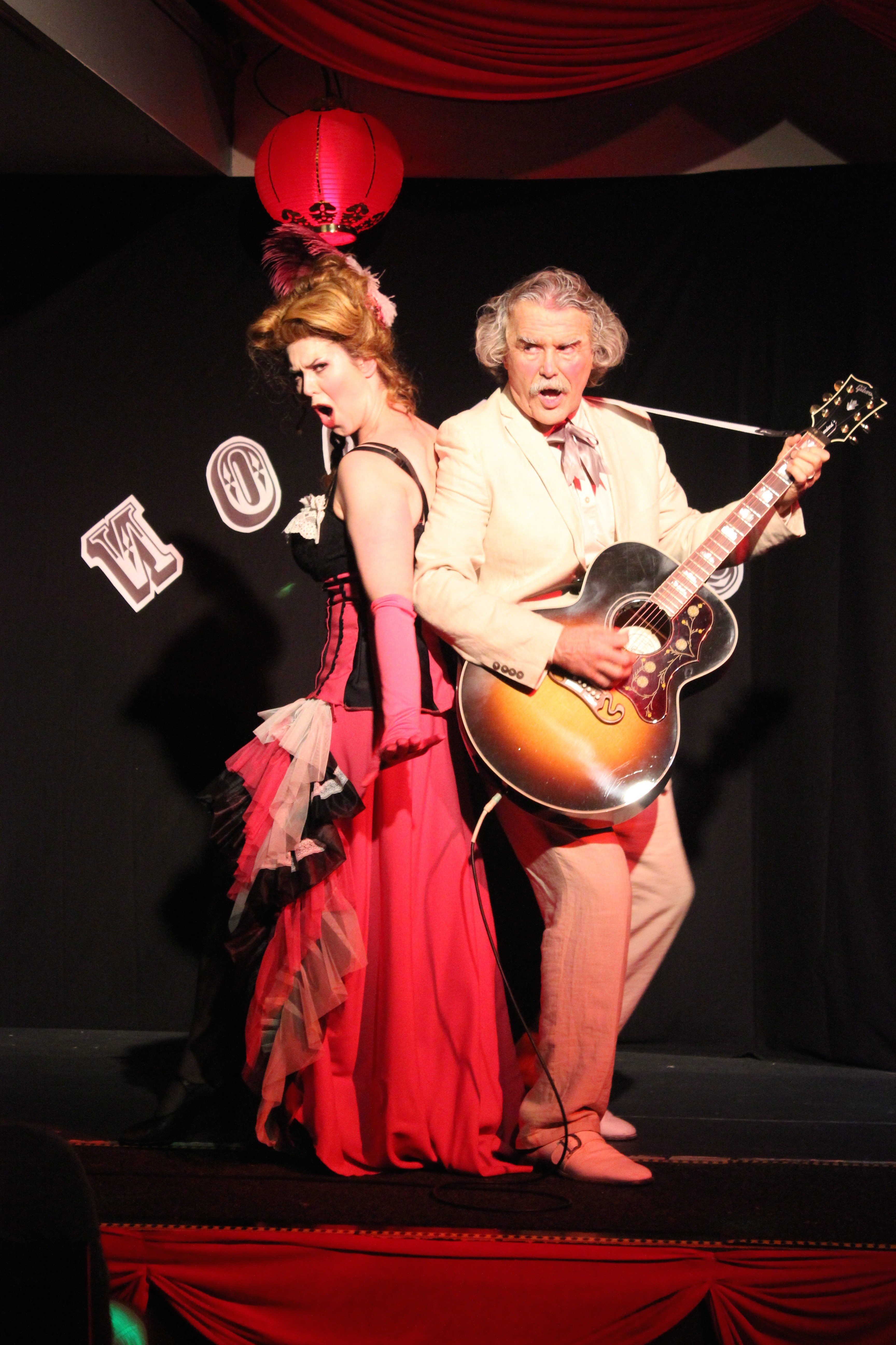 """COURTESY  PHOTOTales of old San Francisco make up the fun """"Barbary Coast Revue"""