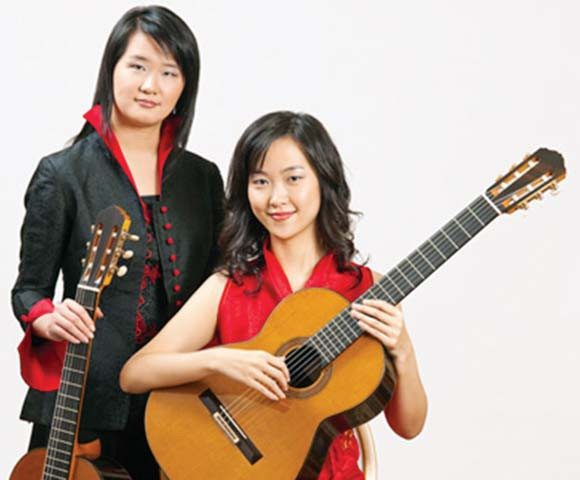 """Courtesy photoThe Beijing Guitar Duo — Meng Su and Yameng Wang — performs a """"Salons at the Rex"""" concert featuring melodies old and new."""