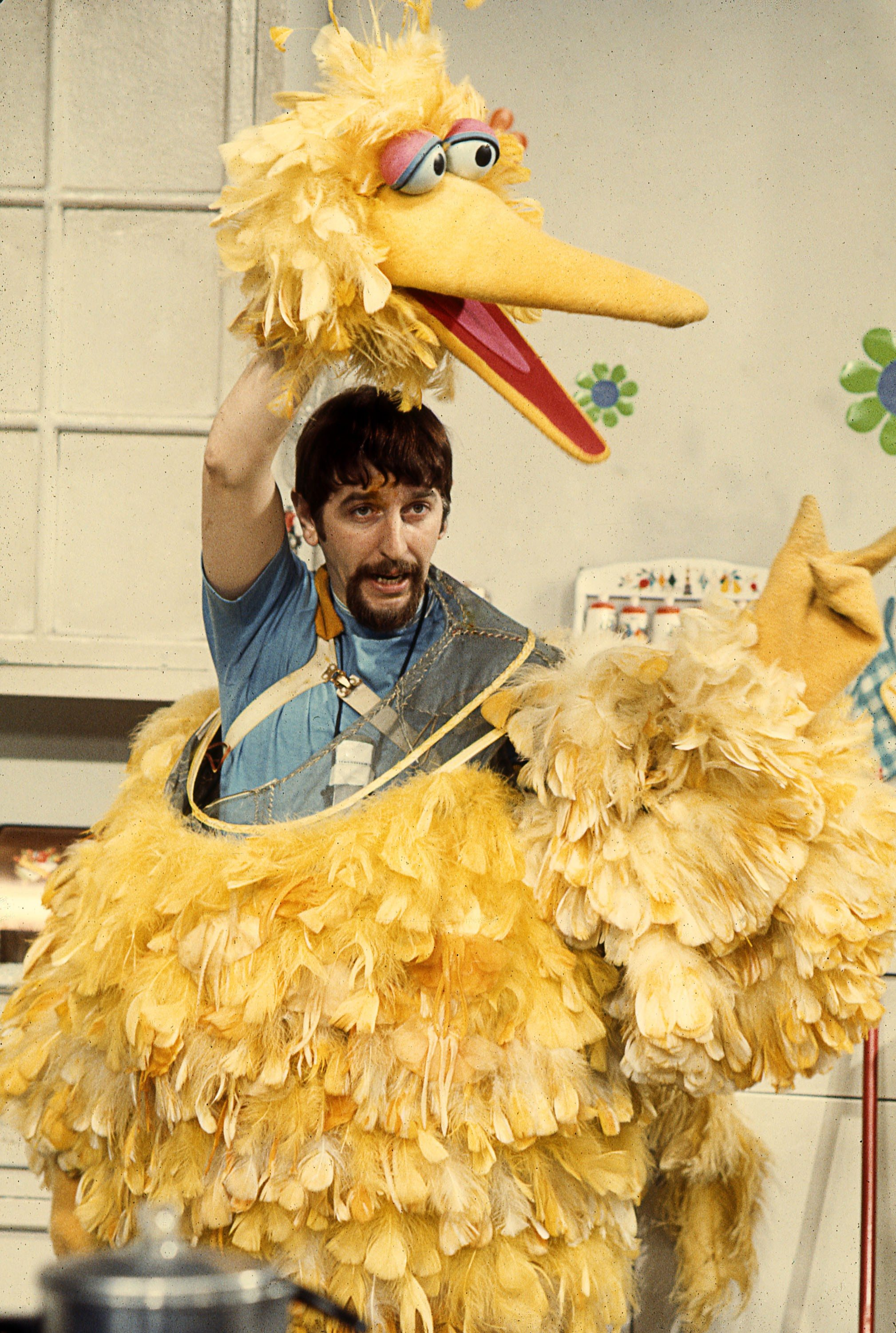 "COURTESY ROBERT FUHRINGCaroll Spinney puppeteers the famed ""Sesame Street"" character in an archival image from the likable documentary ""I Am Big Bird: The Caroll Spinney Story."""