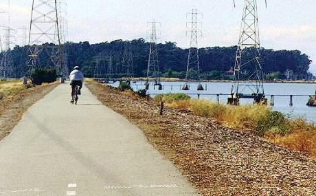 Biking the Bay Trail South: Begin this leisurely 2- to 3-hour ride by taking BART to Millbrae.