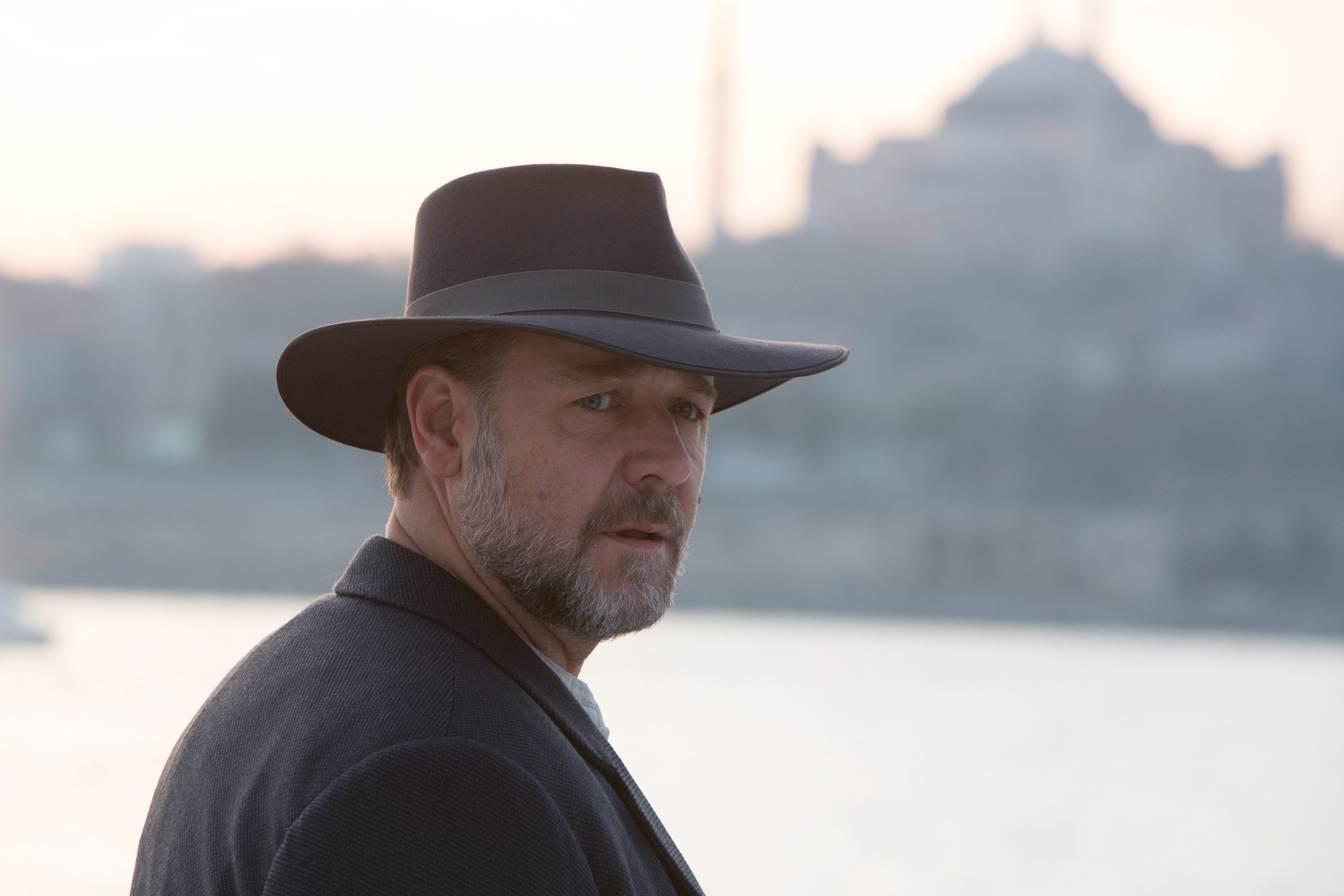 "COURTESY WARNER BROS. PICTURESRussell Crowe plays a man searching for his missing sons after the 1915 battle of Gallipoli in ""The Water Diviner."""