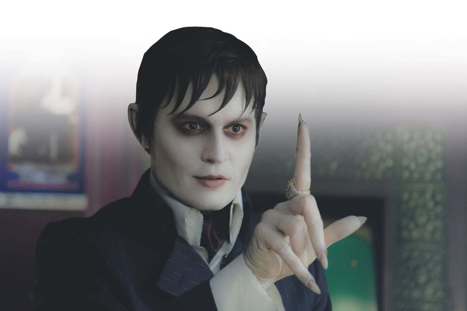 """Courtesy photoBlood and soap: Johnny Depp and Michelle Pfeiffer star in """"Dark Shadows"""