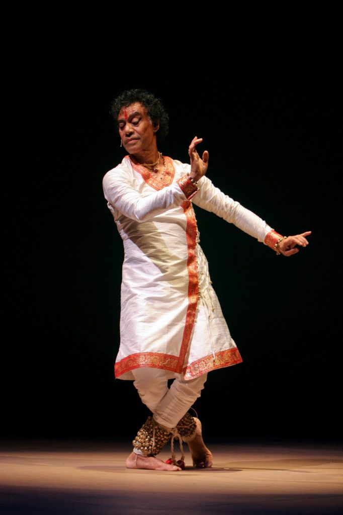 """COURTESY MARTY SOHLKathak dance master Pandit Chitresh Das appears this weekend in """"Yatra: Journey from India to Spain"""" at the Palace of Fine Arts."""