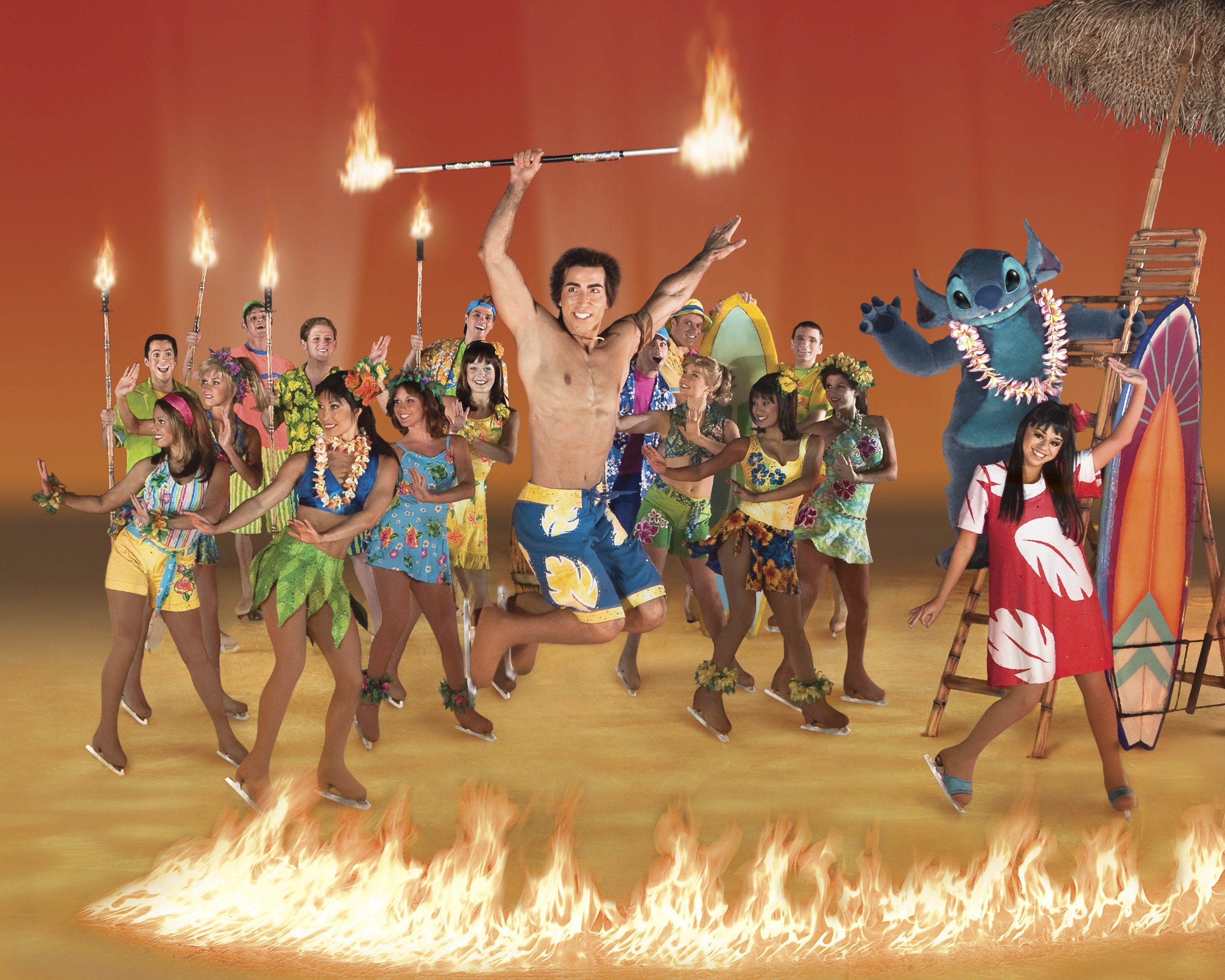 """Courtesy photoIce show: """"Disney on Ice presents Let's Celebrate"""" includes more than 50 characters"""