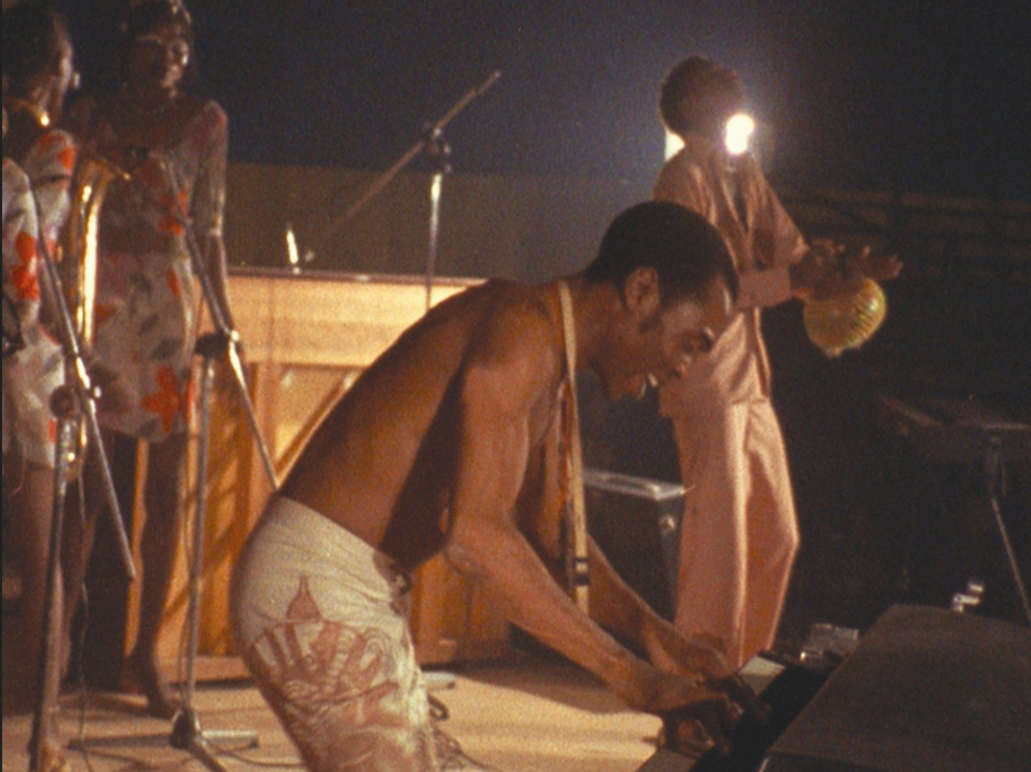 "COURTESY MICHELE BUONO/PIERO RICCARDIAfrobeat innovator and Nigerian activist Fela Kuti is the subject of ""Finding Fela"