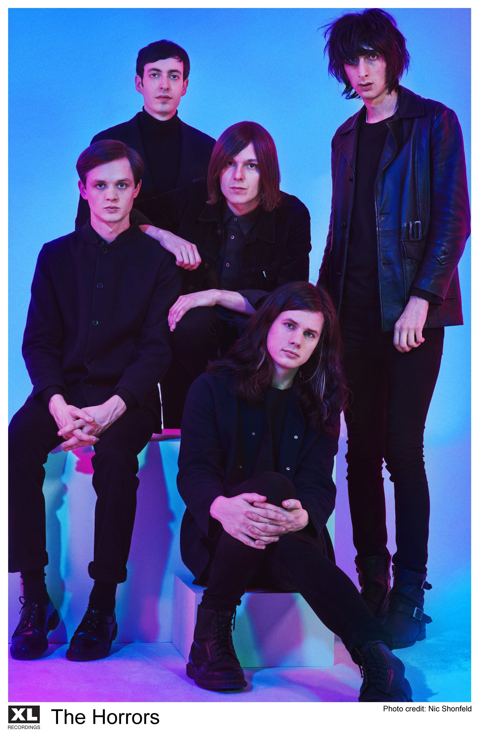 "COURTESY NIC SHONFELDBritain's The Horrors play from their fourth album ""Luminous"" at the Fillmore this week."