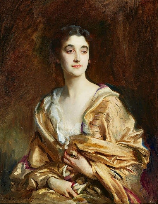 "COURTESY  PHOTOJohn Singer Sargent's portrait of Lady Sybil Sassoon is on view at  ""Houghton Hall: Portrait of an English Country House"" at the Legion of Honor."
