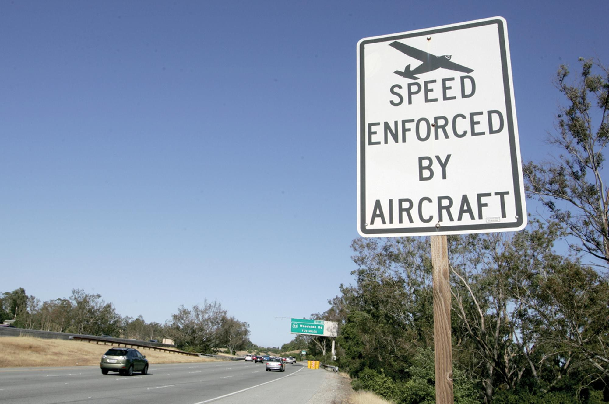 Mike Koozmin/The S.F. ExaminerOnly 362 speeding citations were made by air out of 165