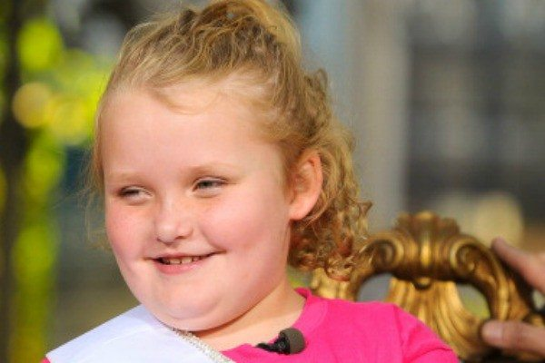 Getty Images: File PhotoHoney Boo Boo shows Girl Scouts How to Sell on Facebook