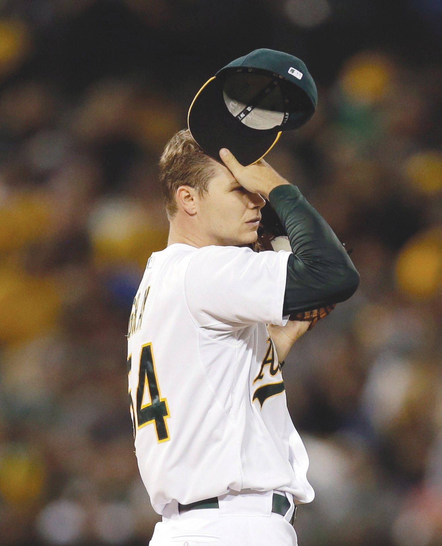 Ben Margot/APPitcher Sonny Gray and the A's were shut out for the seventh time since Aug. 1