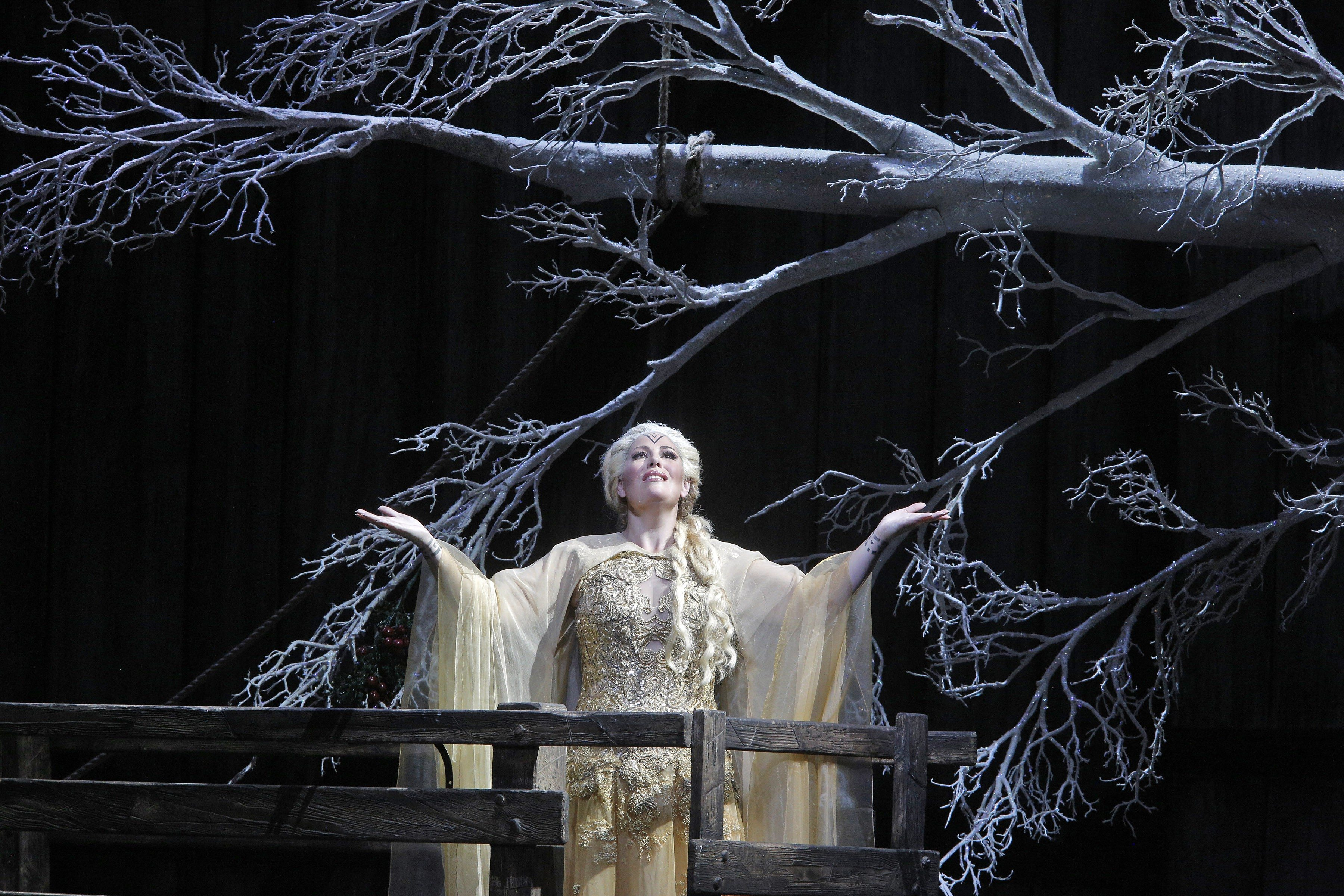 COURTESY CORY WEAVERSondra Radvanovsky triumphed as Norma at the War Memorial Opera House in Friday's opening of  San Francisco Opera's 92nd season.