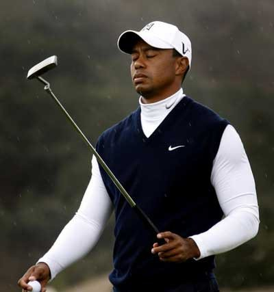 """Tiger Woods called Thursday """"probably the worst putting round I've ever had."""" (Dino Vournas/AP)Tiger Woods called Thursday """"probably the worst putting round I've ever had."""" (Dino Vournas/AP)"""