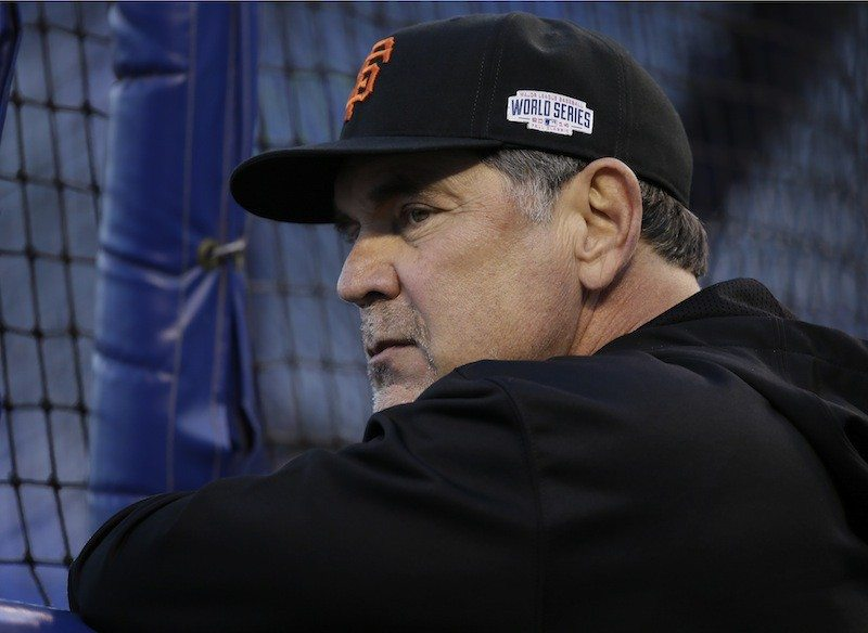 Charlie Neibergall/AP PhotoThe recent health scare that Giants manager Bruce Bochy had makes one stop and think of just how valuable he has been to the team's three recent World Series titles.