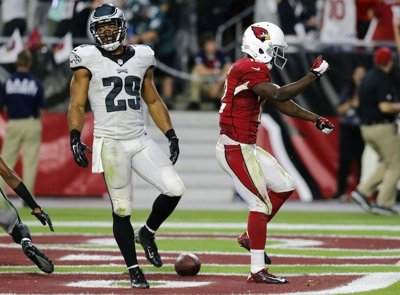 Rick Scuteri/AP PhotoThe Raiders have signed former Philadelphia safety Nate Allen to a four-year contract on Thursday.