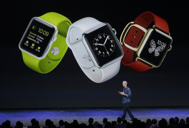 Marcio Jose Sanchez/AP PhotoApple watches have been spotted around S.F. despite the April release date.
