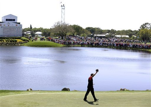 AP File PhotoHunter Mahan believes that Tiger Woods has proven he is back in the golf game.