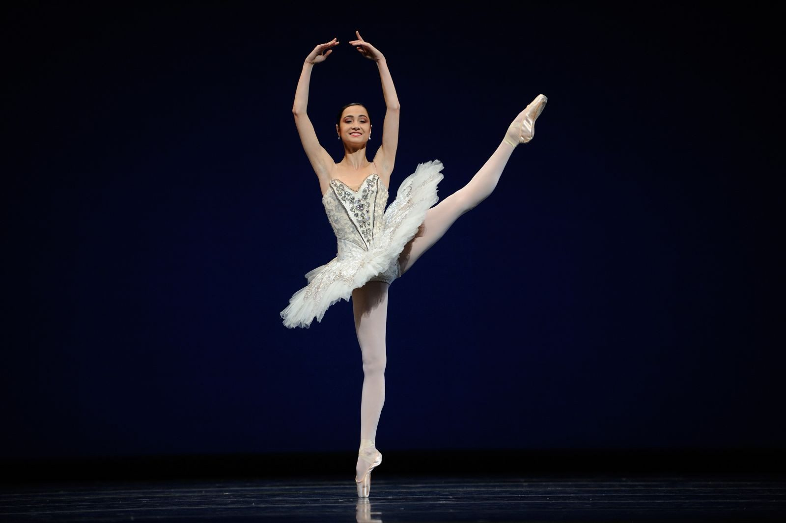 """Courtesy PhotoSan Francisco Balllet principal dancer Mathilde Froustey was stunning in """"Grand Pas Classique"""" at the company's 81st season gala performance."""
