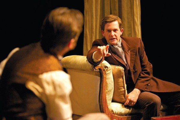 """Courtesy PhotoPatrick Kelly Jones is a convincing early socialist in Tom Stoppard's """"Shipwreck."""""""