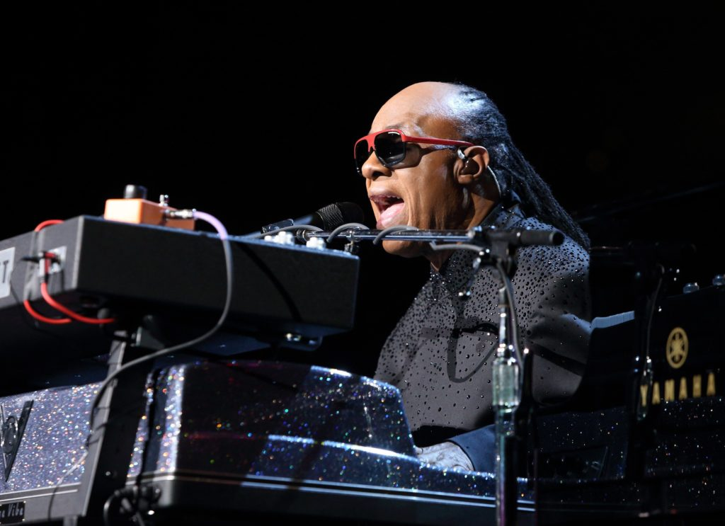 "Owen Sweeney/Invision/APStevie Wonder plays his seminal album live on his ""Songs in the Key of Life Tour 2014."""