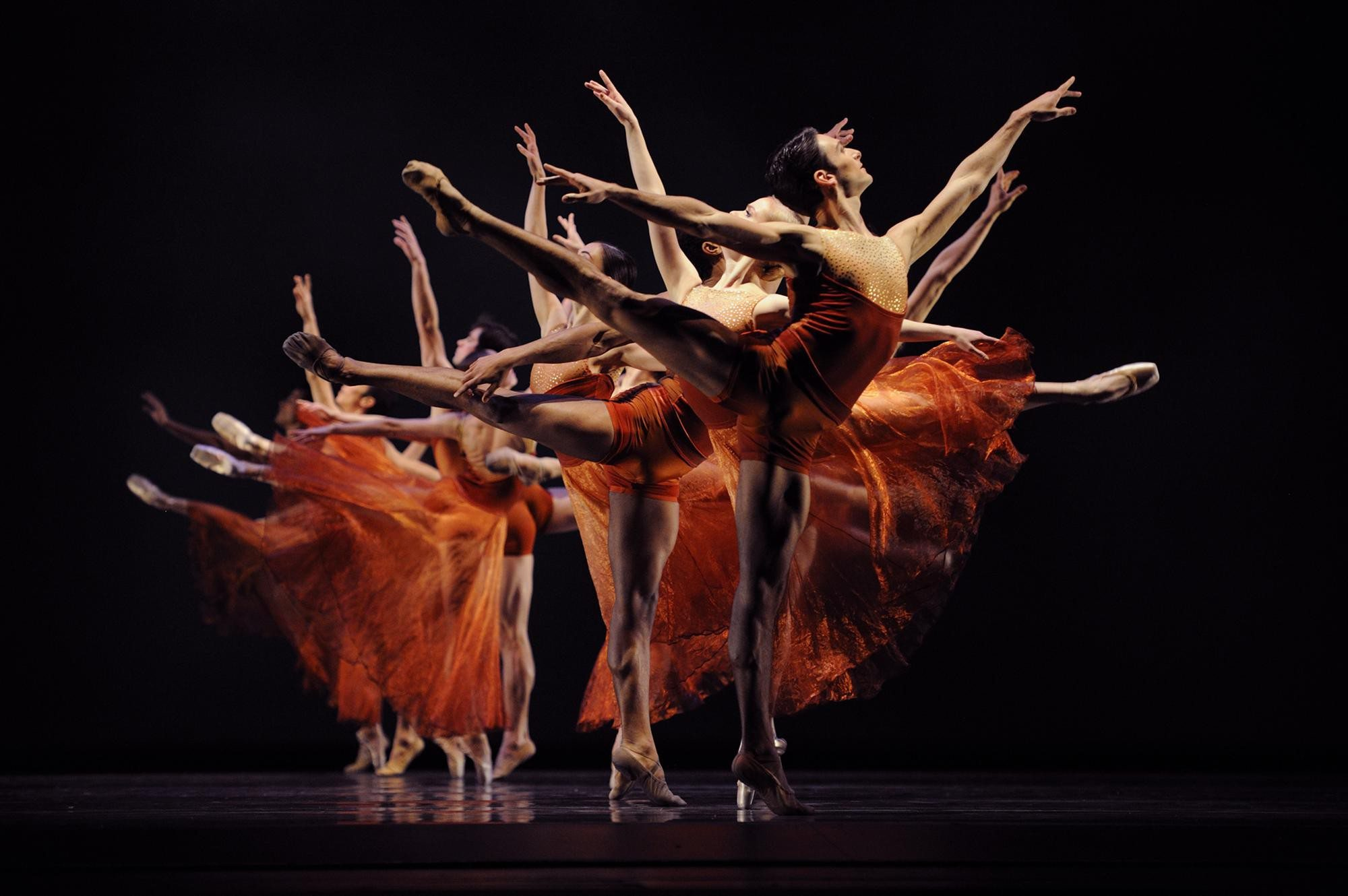 """COURTESY PHOTOPoetry in motion: San Francisco Ballet's Program Six includes a reprise of Edwaard Liang's """"Symphonic Dances"""""""