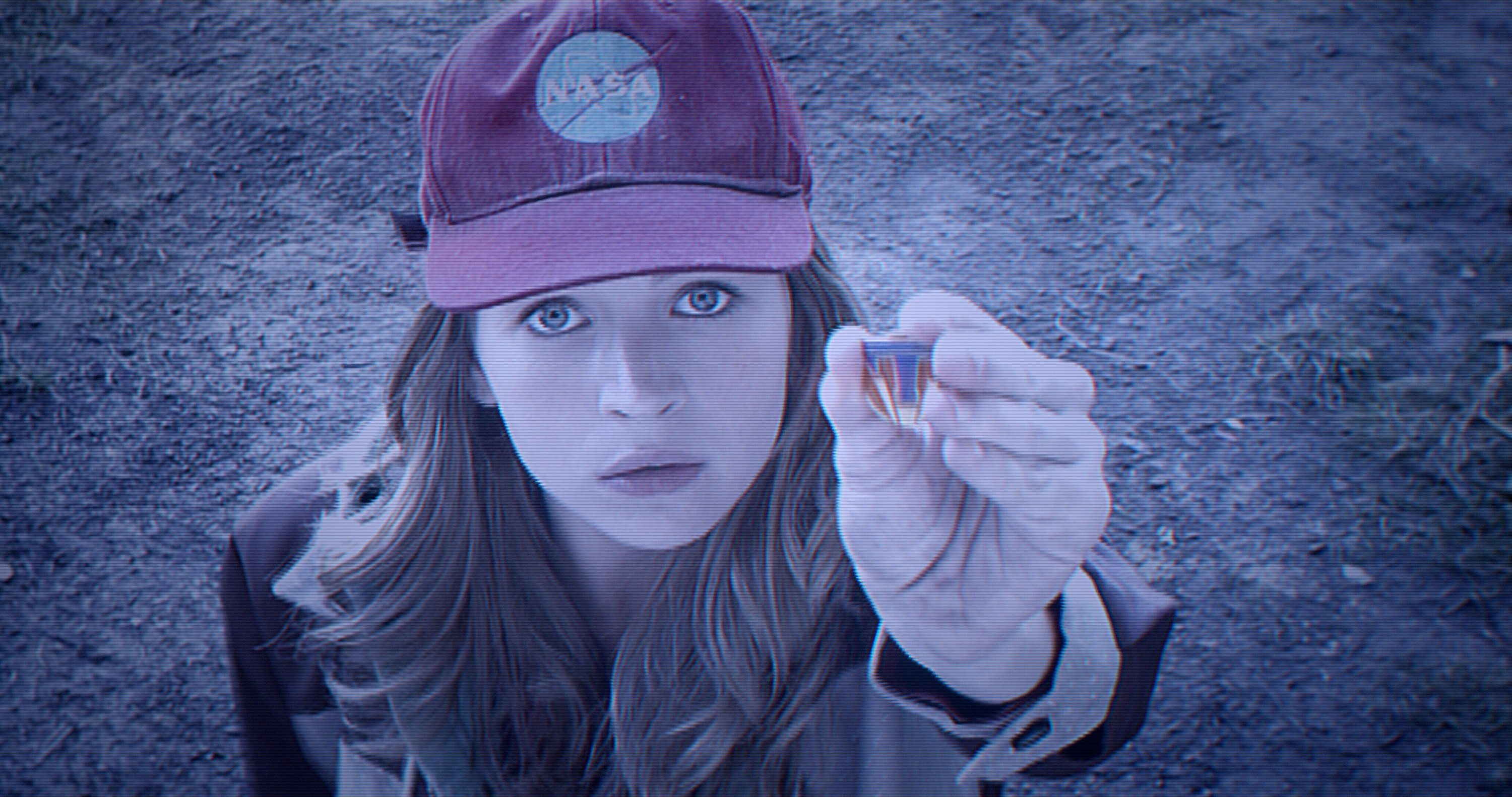 "COURTESY WALT DISNEY STUDIOSBritt Robertson plays a girl whose special pin connects her to an alternate reality in ""Tomorrowland."""