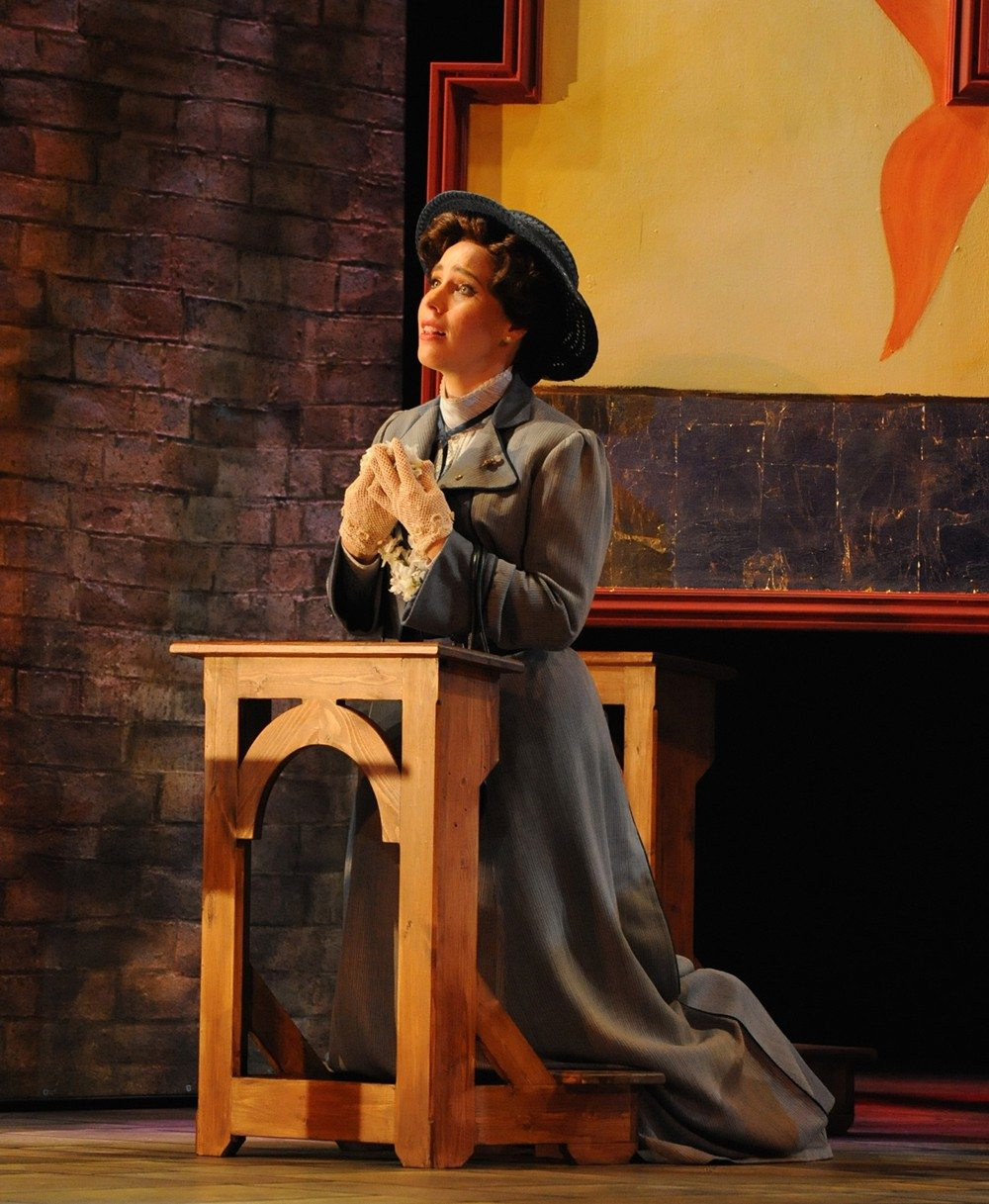 """COURTESY PAT KIRKSoprano Christie Conover is excellent in Opera San Jose's satisfying world-premiere """"Where Angels Fear to Tread."""""""
