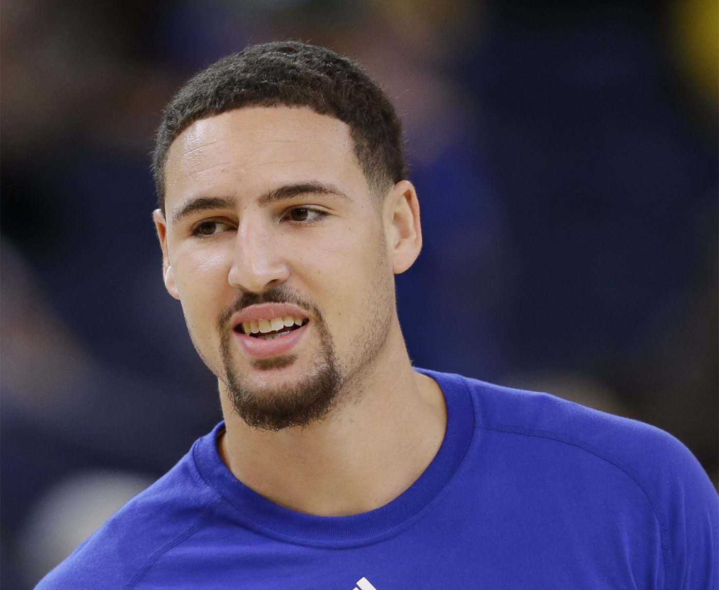 Klay Thompson has not been in top form, perhaps because of a back injury that has been nagging him for weeks. (AP Photo/Marcio Jose Sanchez)