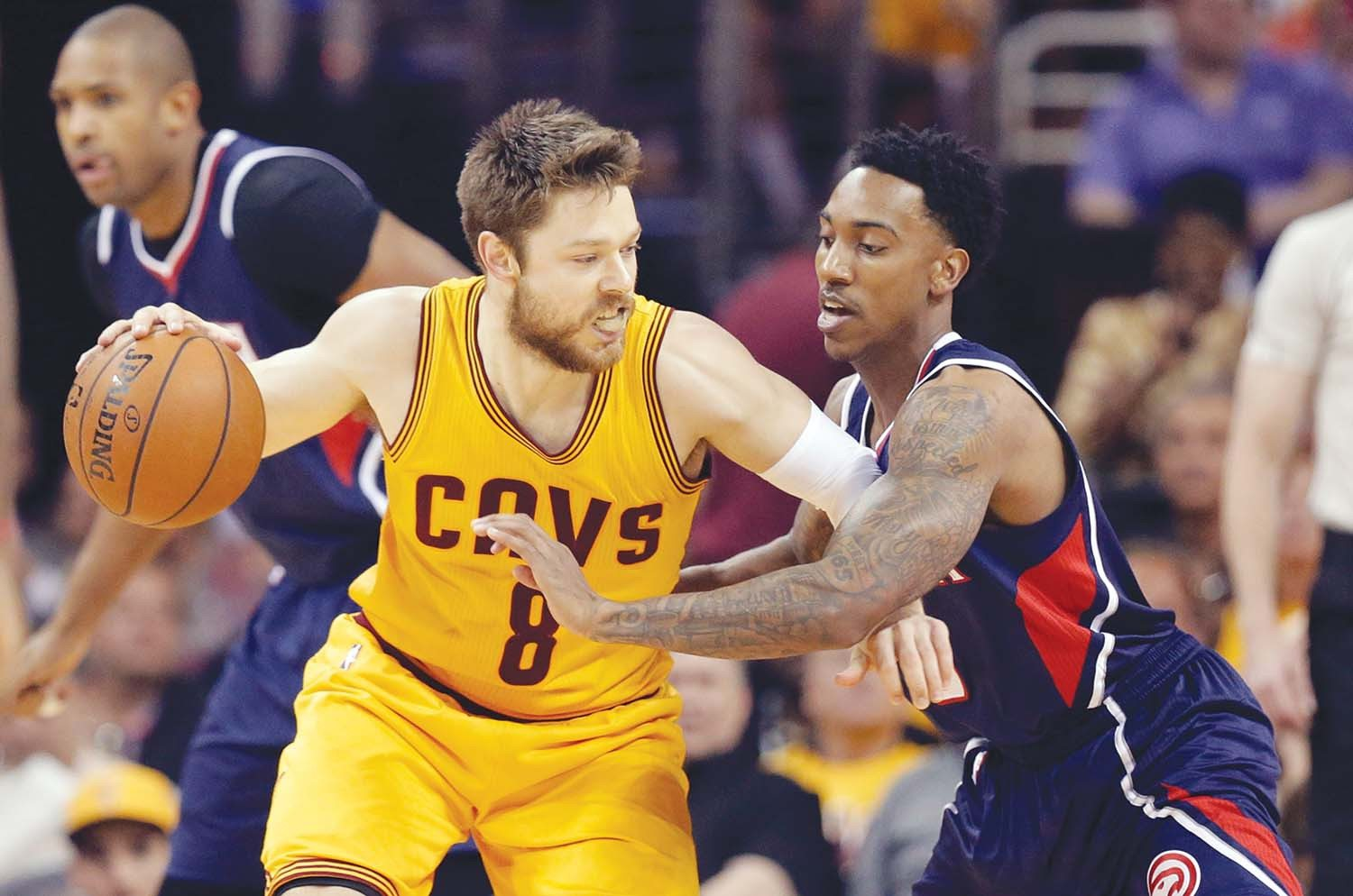 Tony Dejak/AP file photoSt. Mary's alum Matthew Dellavedova