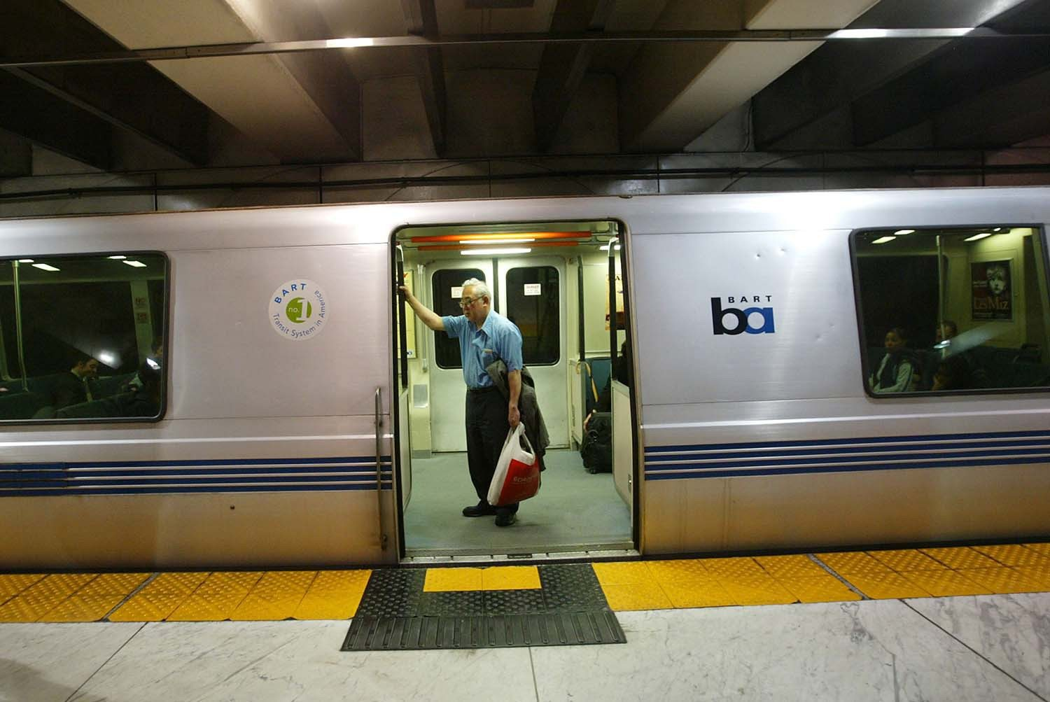 Cindy Chew/2005 AP File PhotoStarting Jan. 1 BART fares will increase by either 10 or 15 cents depending on the distance of a trip.