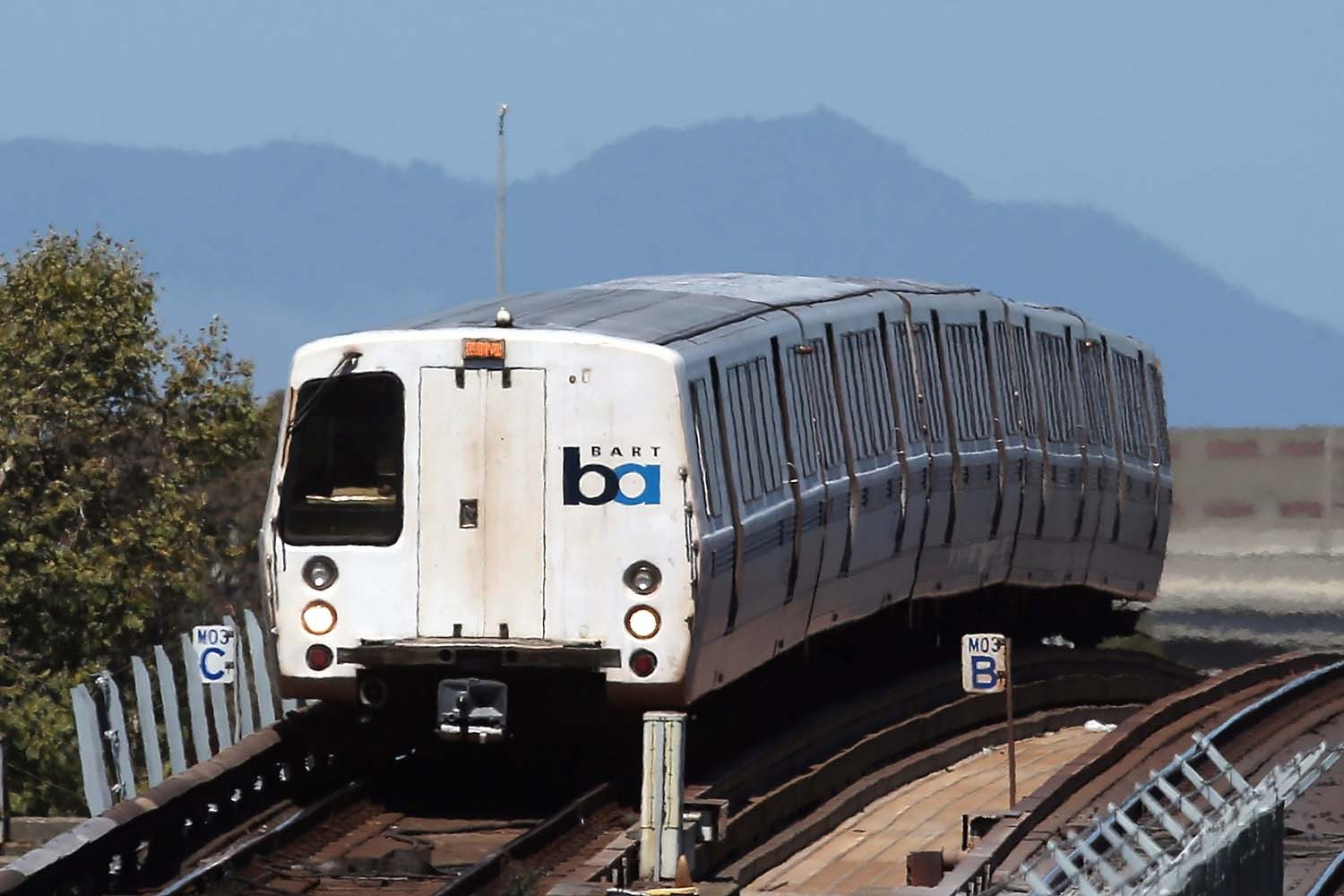 Justin Sullivan/Getty ImagesBART ridership was down sharply Friday