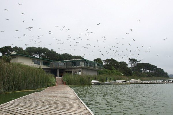 S.F. Examiner File PhotoNow and later: Lake Merced boathouse is being revamped.
