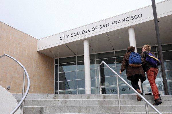 S.F. Examiner File PhotoDepartment chairs at CCSF chose keeping their jobs while taking a hefty pay cut.