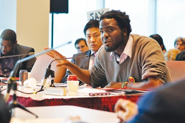 S.F. Examiner File PhotoCCSF student trustee William Walker is among 10 candidates hoping for a seat on the CCSF board of trustees. See the full list of candidates and why they're running in the article's sidebar.