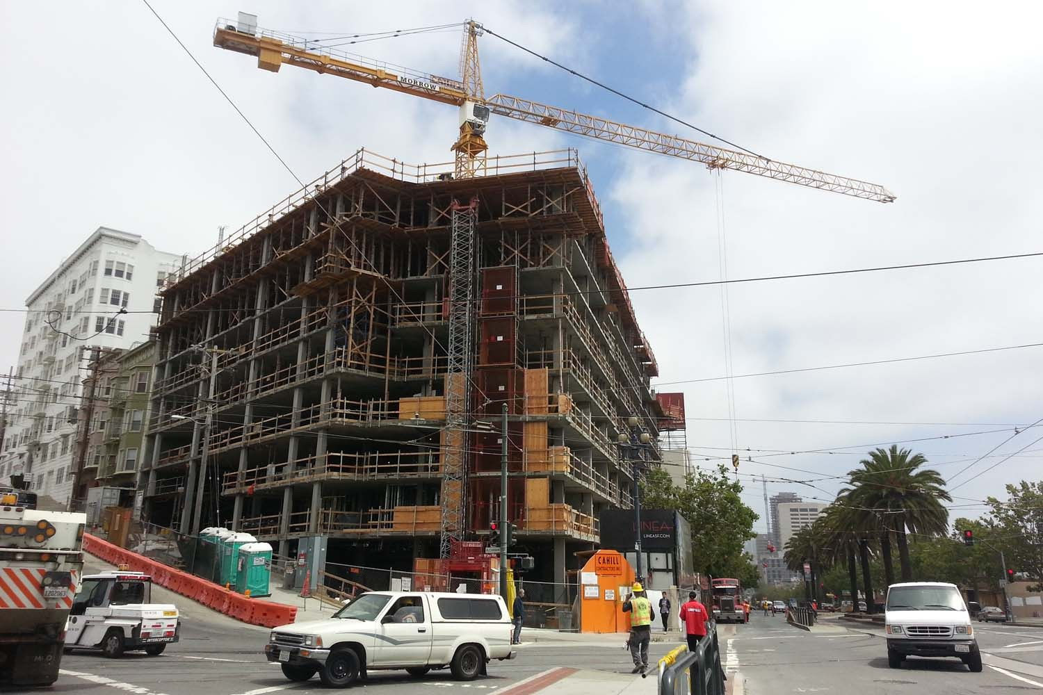 Mike Koozmin/The S.F. ExaminerA building boom in San Francisco could give the Department of Building Inspection funds to make improvements