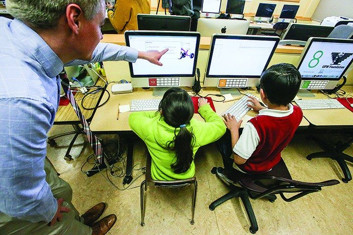 Mike Koozmin/The S.F. ExaminerThe Digital District plan is a five-year roadmap highlighting how technology will be woven into the classrooms of public schools.