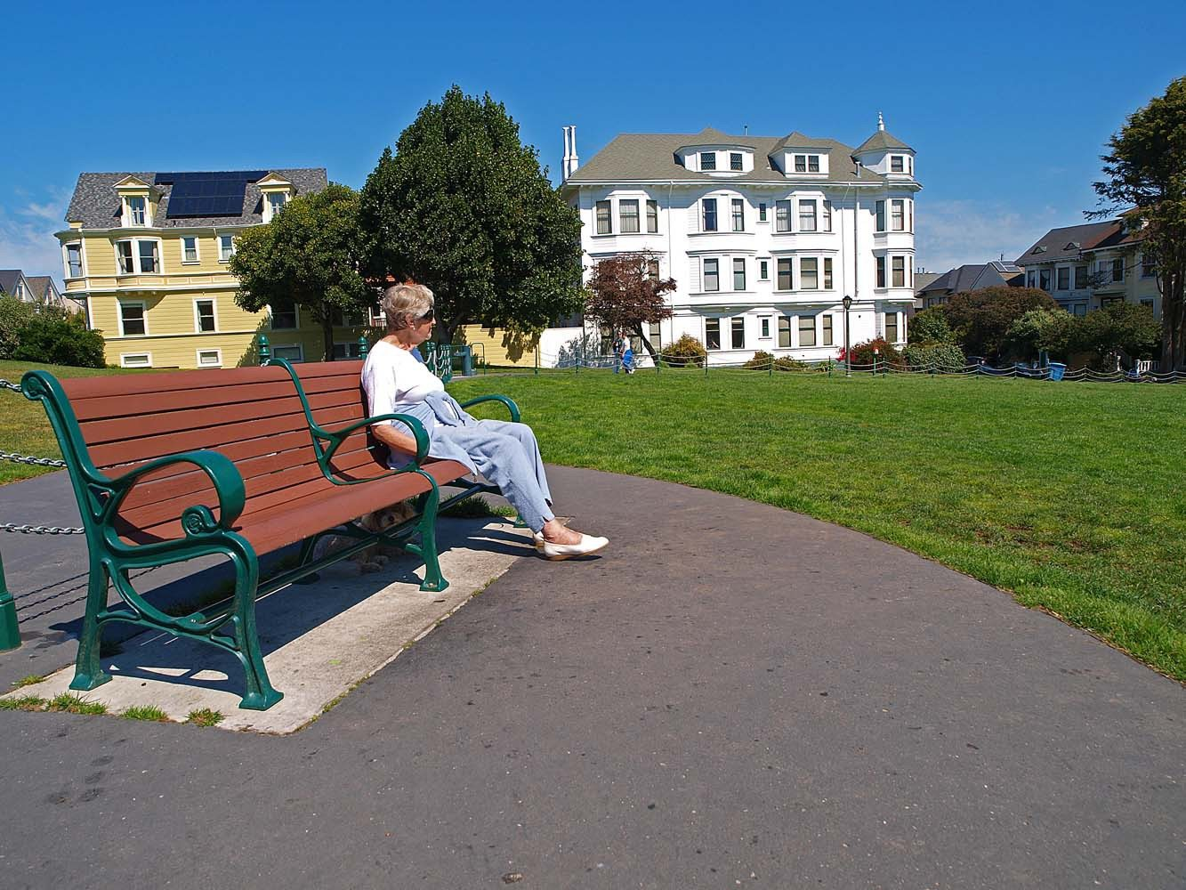The Duboce Park neighborhood could become the first in nearly 10 years to be deemed a local historic landmark in San Francisco. (Mike Koozmin/The Examiner)