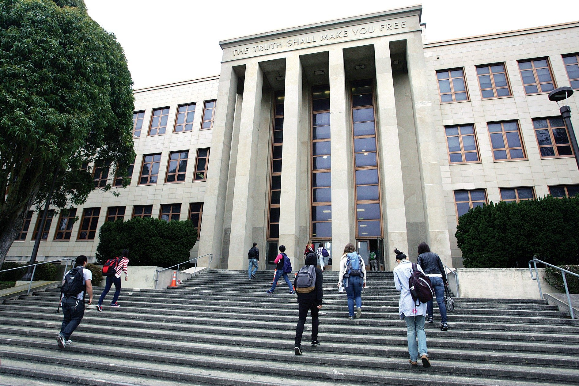 MIKE KOOZMIN/THE S.F. EXAMINERCCSF is engaged in a legal battle with the ACCJC for accreditation.