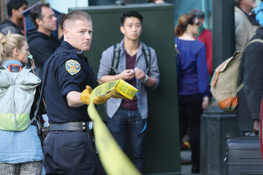 As crime climbs in The City, police plan to release a cell phone app for civilians to report crime. (Mike Koozmin/S.F. Examiner)